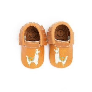 Brand New Freshly PIcked Llama Moccs